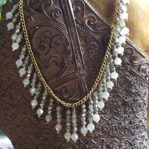 Fringe Bead Necklace